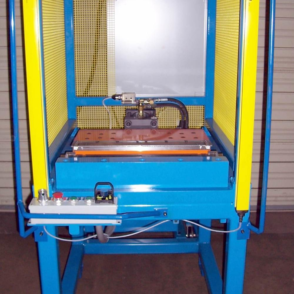 A custom machine - Hydraulic Press